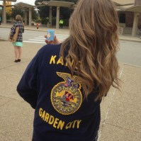 This past October, I received my American FFA Degree... My final FFA goal.