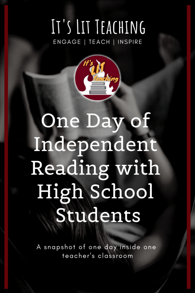 One Day of Independent Reading with High School Students