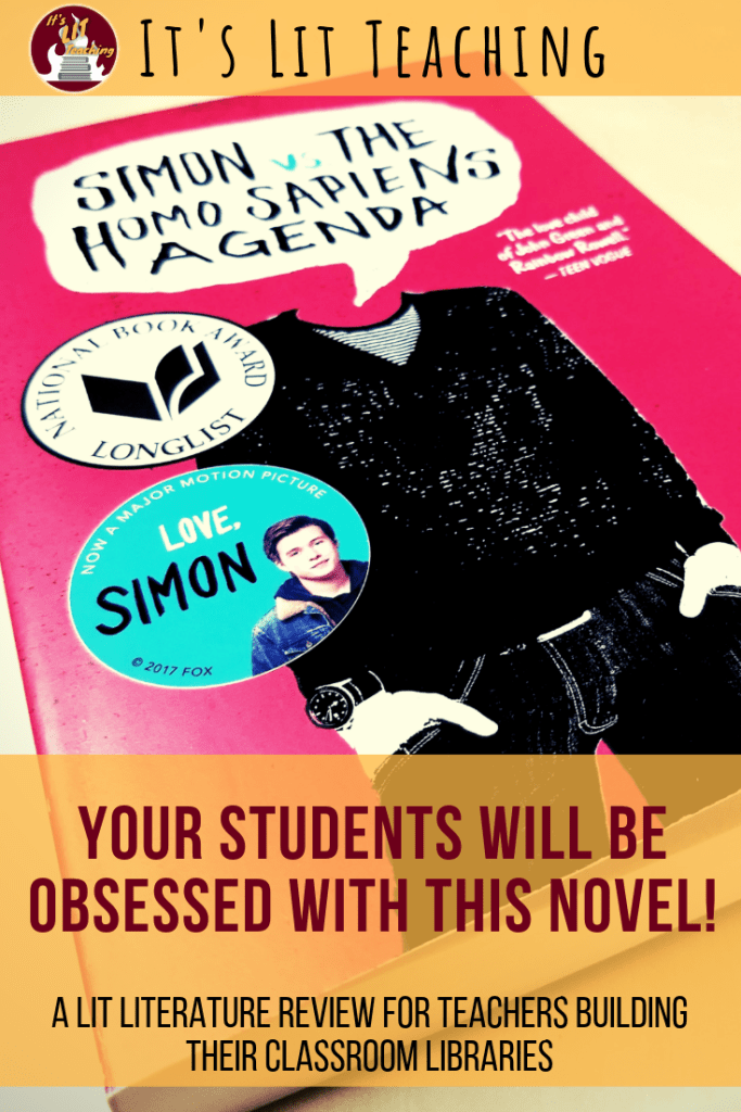 Your Students Will be OBSESSED with this Novel!