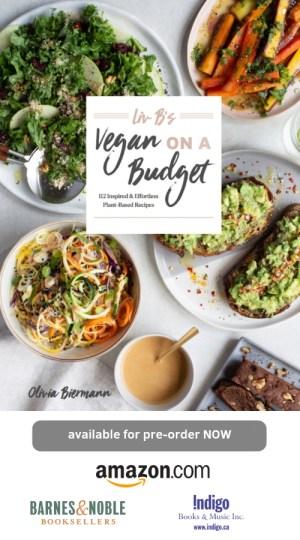 vegan on a budget cookbook