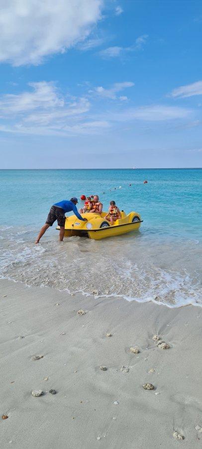 Iberostar Selection Varadero peddle boats