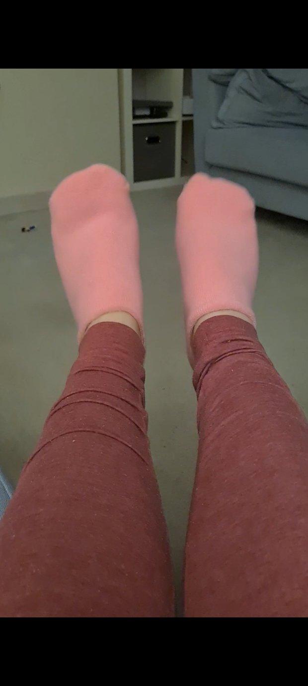 Aloe Gel Lined Socks