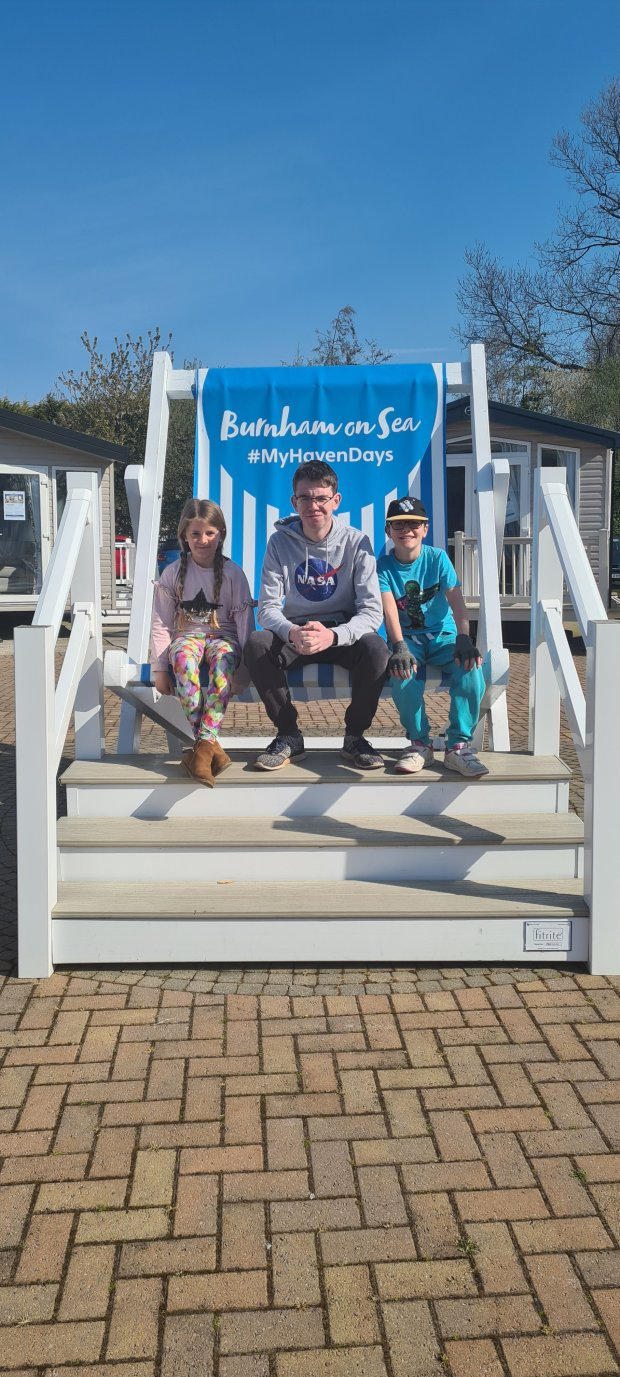 Haven Burnham on sea deckchair