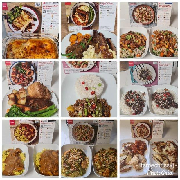 Gousto meal kits