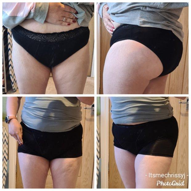 Modibodi period and bladder leak underwear high waist brief and shorts