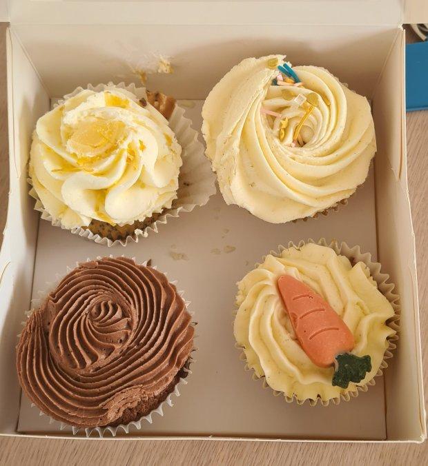 Bee Sweet Co cupcakes