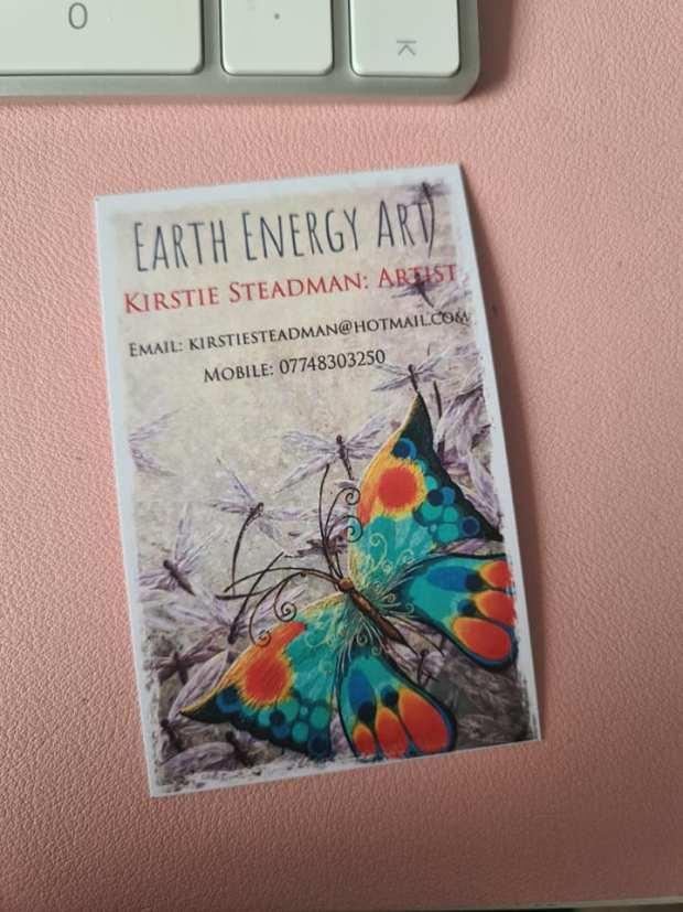 Earth energy art