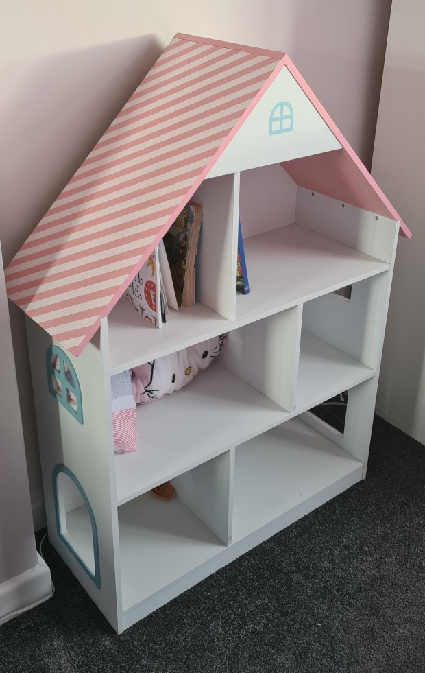 Wooden Doll House Book Shelf : Amazon