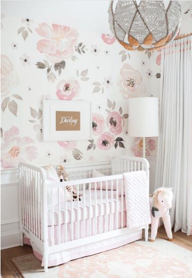 25 Gorgeous Floral Nursery Decor Ideas You Ll Love