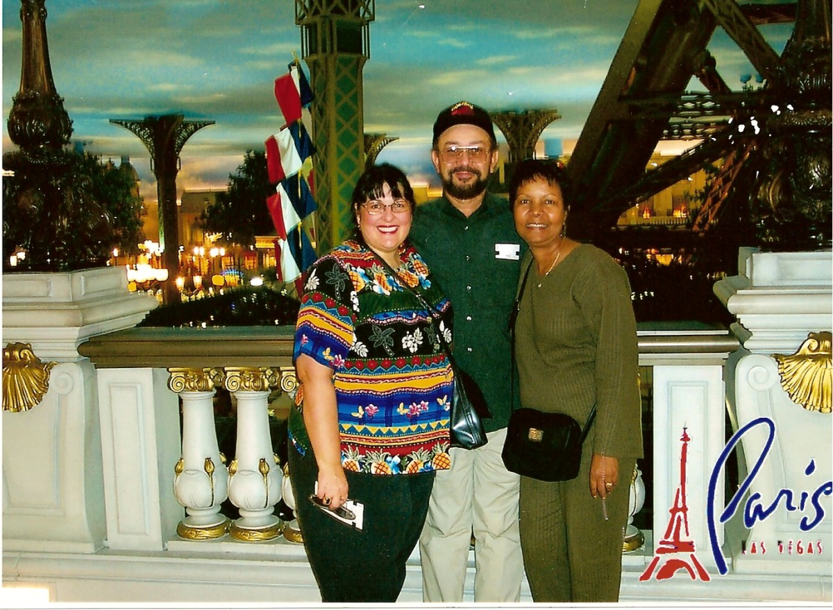 Las Vegas with Martin and Hilda Lavergne