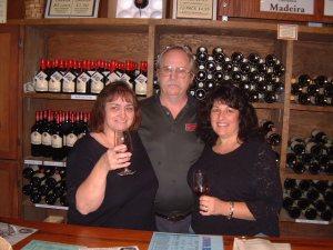 Cousin Janet & Joyce Wine Tasting Napa 2003