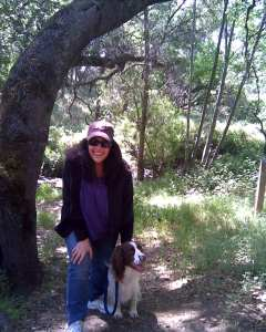 Walk N Hike on Old Oak Ave Folsom with my boy