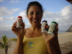 100% all natural servings of 9 to 12 fruits and veggies a day