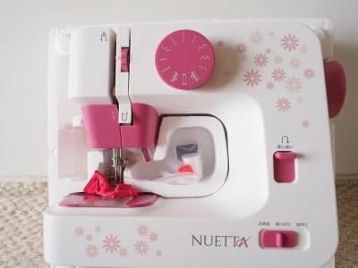 ショップジャパンのミシン「ヌエッタ」で百均手ぬぐいをあずま袋に!縫エッタ(^◇^)//