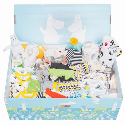 ファーストベビーに贈るフィンランドからのベイビーボックス「Finnish Baby Box」は喜ばれる出産祝い!今ではおもちゃ箱になりました。