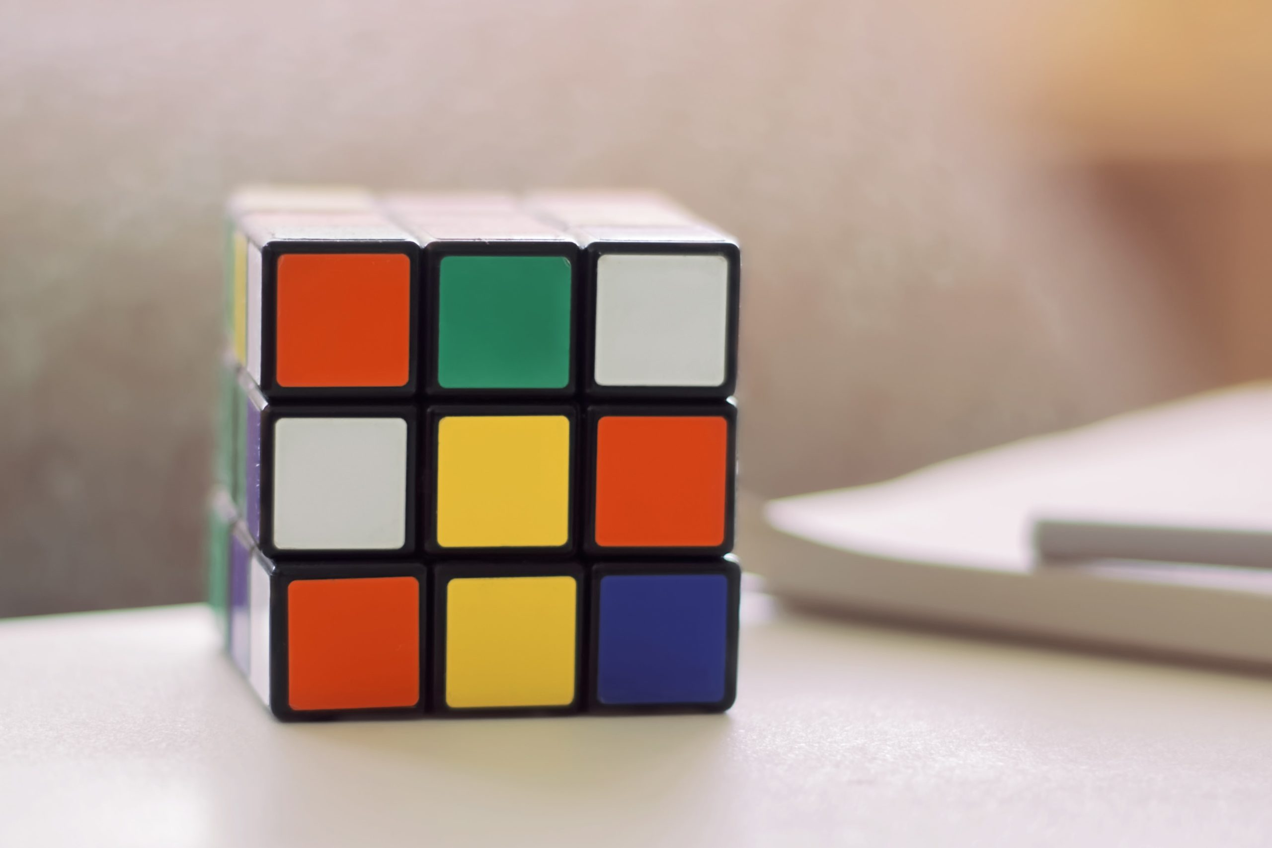 A Rubik's Cube as a symbol of an unsolved problem