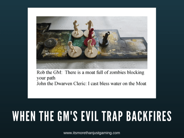 The GM's Trap failed