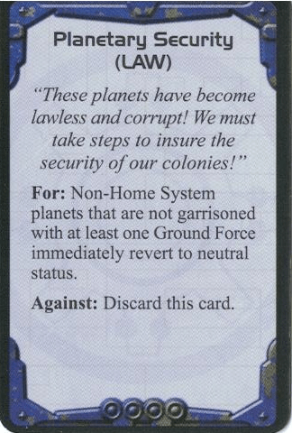 Politics Card