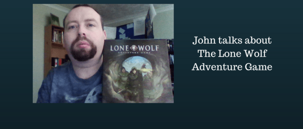 I wrote a first impressions blog with unboxing video of The Lone Wolf Adventure Game
