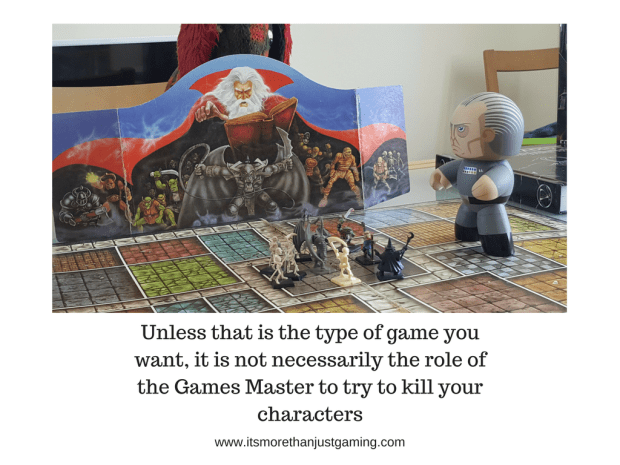 Unless that is the type of game you have agreed on it is not necessarily the role of the Games Master to kill your characters