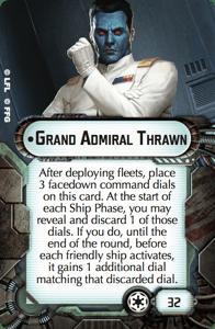 Grand Admiral Thrawn from Star Wars Armada