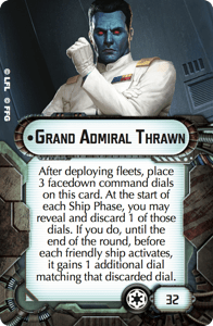 Grand Admiral Thrawn from Star Wars Armada