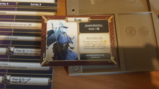 Elias Character Board for Massive Darkness