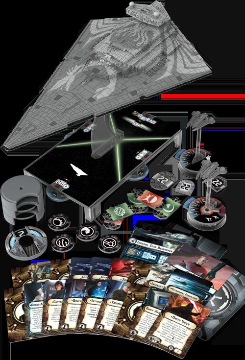 Star Wars Armada Star Destroyer Chimaera