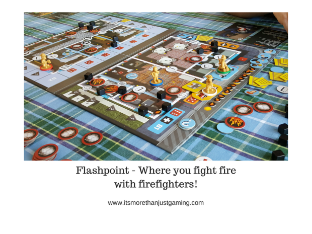 Flashpoint - Where you fight fire with firefighters!