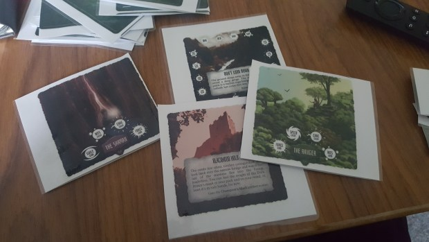 Some of the cards from Forest of Fate