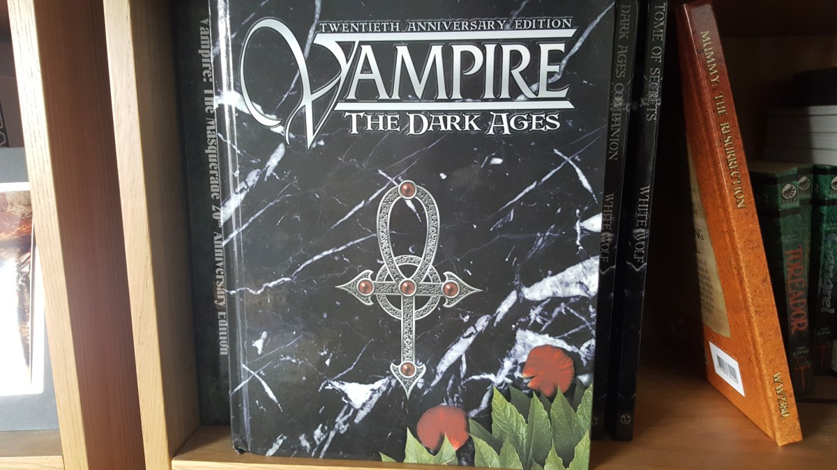 Vampire: the Dark Ages 20th Anniversary Edition