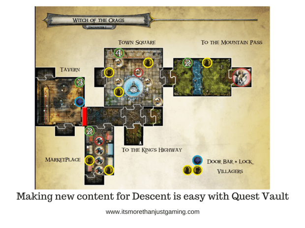 Descent Quest Vault Content