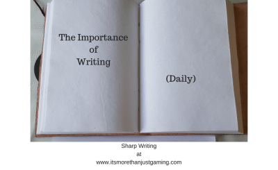 The Importance of Writing daily