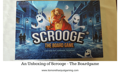 An Unboxing of Scrooge - The Boardgame