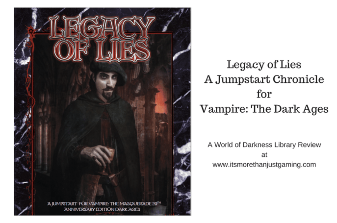 Legacy of LiesA Jumpstart ChronicleforVampire_ The Dark Ages