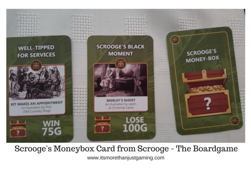 Scrooge's Moneybox Card from Scrooge - The Boardgame