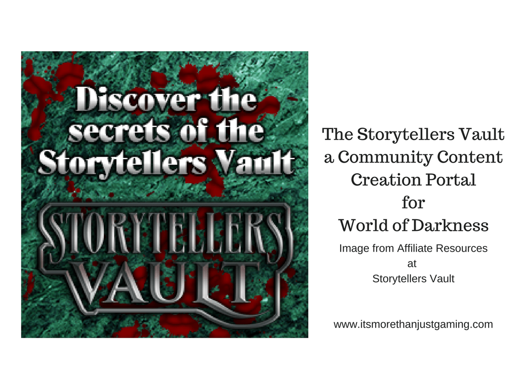 Storytellers Vault - A Community Content Creation Portal