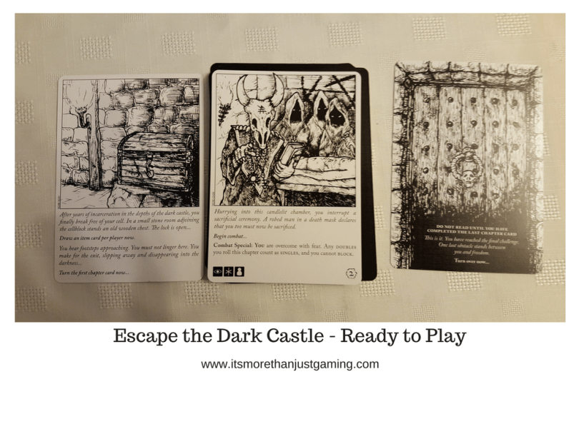 Escape the Dark Castle - Ready to Play