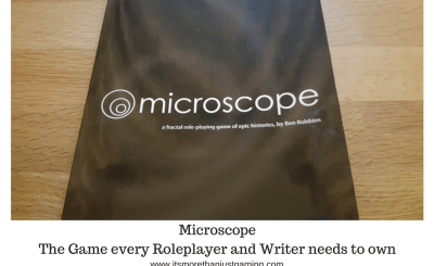 Microscope - The Game every Roleplayer and Writer needs to own