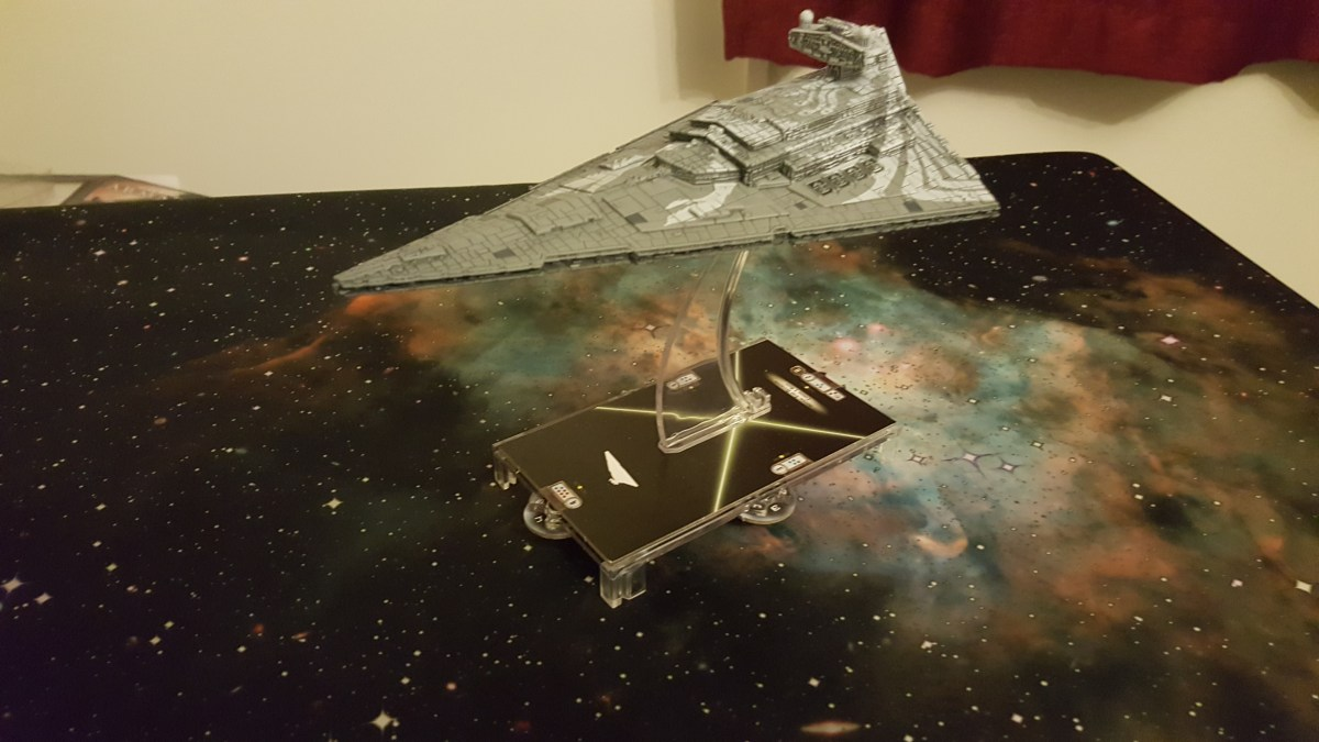 Star Wars Armada Wave 7 - Imperial Star Destroyer Chimaera Unboxing