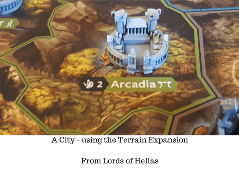 A City - using the Terrain Expansion