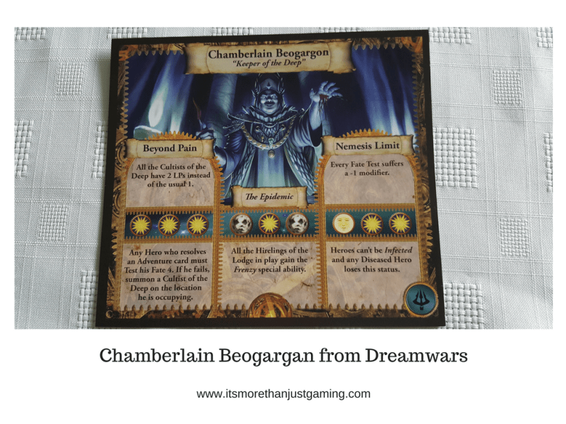 Chamberlain Beogargan from Dreamwars