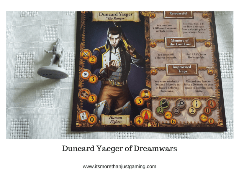 Duncard Yaeger from Dreamwars