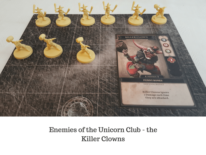 Enemies of the Unicorn Club - the Killer Clowns