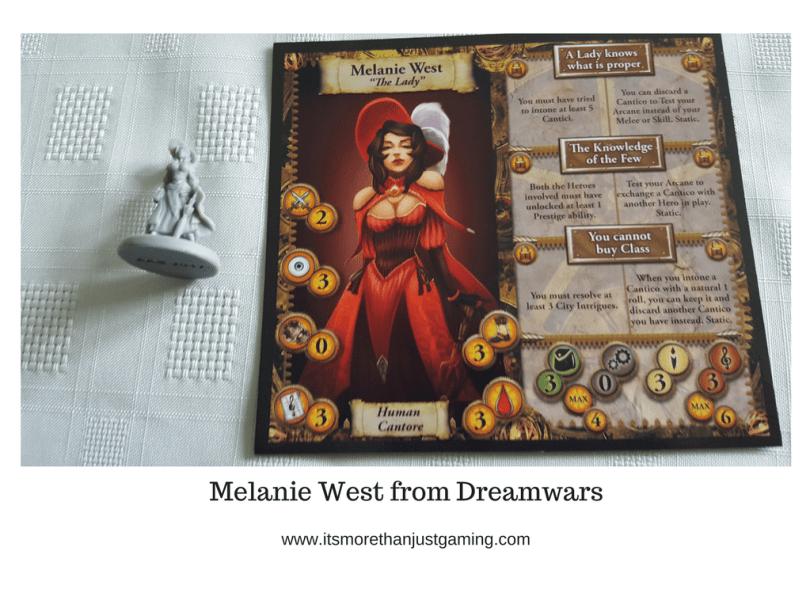 Melanie West from Dreamwars