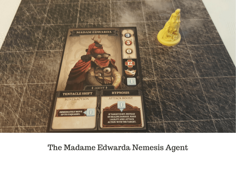 The Madame Edwarda Nemesis Agent