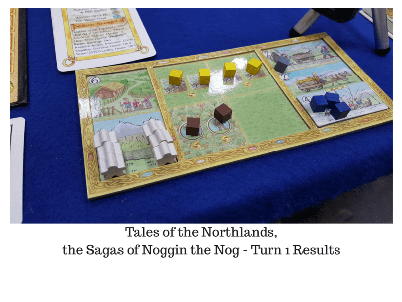 Noggin the Nog, turn 1 results