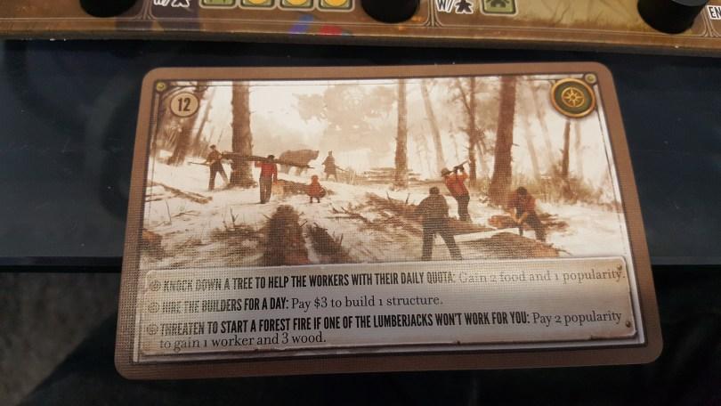 Scythe Encounter Card