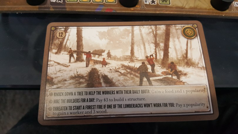 Scythe Encounter Card
