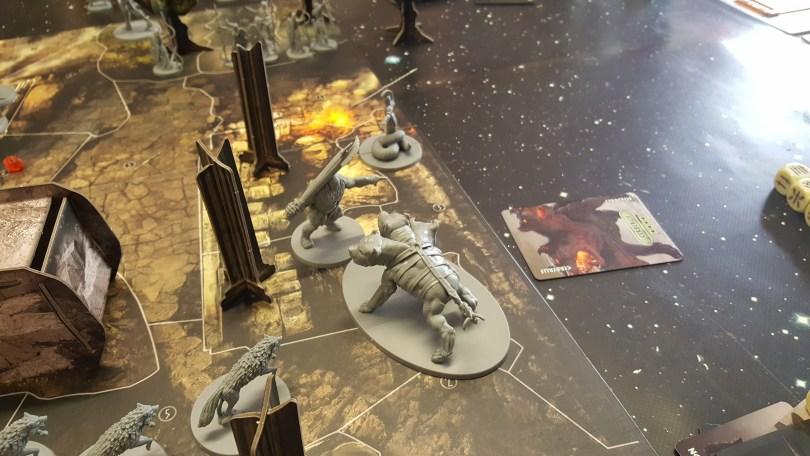 Orion fights Cereberus